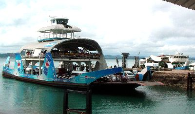 Ao Tammachat ferry is the cheapest and often quickest way to get to koh Chang.