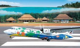 Bangkok Airways to Trat airplane
