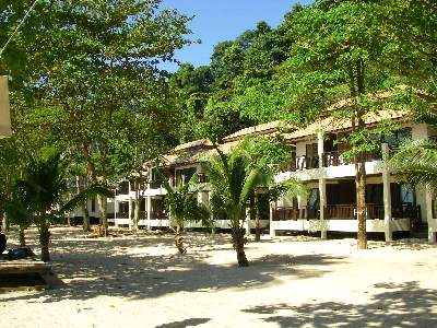 Premium Sea View Rooms at the Siam Beach Resort on Koh chang