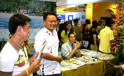 Tourism fair in Queen Sirikit Convention Center Thailand