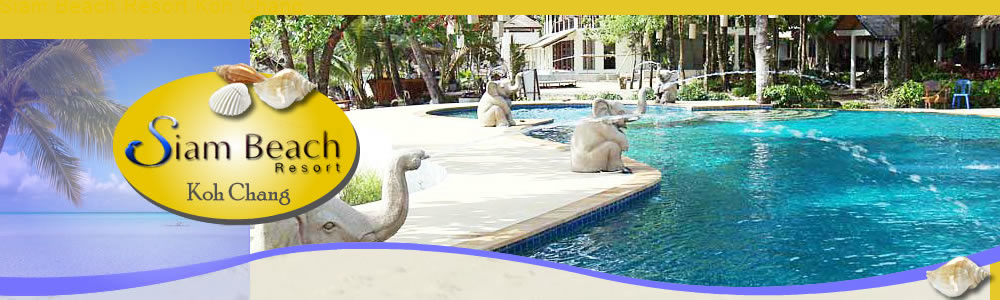 Siam Beach Resort Rates and booking form header image